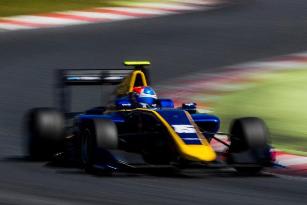 2016 GP3 Series Test 2. Circuit de Catalunya, Barcelona, Spain. Thursday 20 April 2017. Tatiana Calderon (COL, DAMS)  Photo: Zak Mauger/GP3 Series Media Service. ref: Digital Image _56I5567