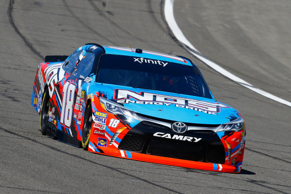 2017 NASCAR Xfinity Series Service King 300 Auto Club Speedway, Fontana, CA USA Friday 24 March 2017 Kyle Busch, NOS Energy Drink Toyota Camry World Copyright: Russell LaBounty/LAT Images ref: Digital Image 17FON1rl_1239