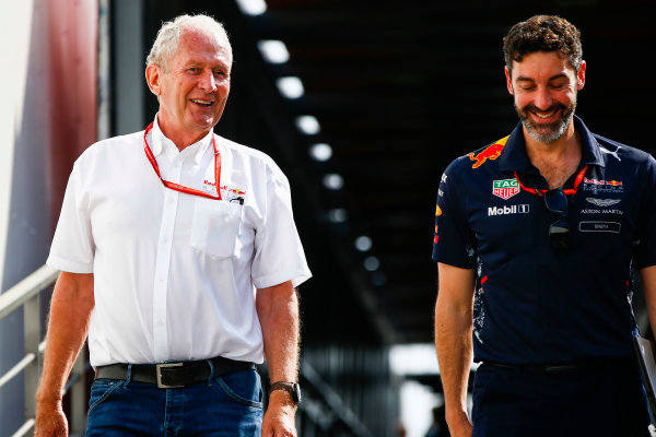 Monte Carlo, Monaco. Thursday 25 May 2017. Helmut Markko, Consultant, Red Bull Racing. World Copyright: Andy Hone/LAT Images ref: Digital Image _ONZ8516