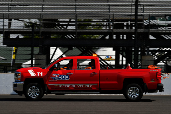 Verizon IndyCar Series Indianapolis 500 Carb Day Indianapolis Motor Speedway, Indianapolis, IN USA Friday 26 May 2017 Chevy Silverado Indy 500 Official Truck World Copyright: Scott R LePage LAT Images ref: Digital Image lepage-170526-indy-8644