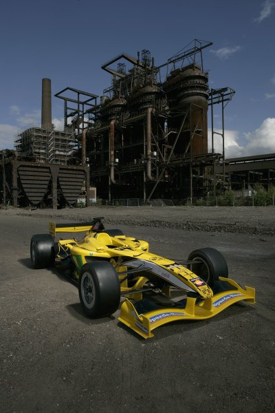 "2007 Superleague Formula ChampionshipDortmund, Germany. 20th - 21st July 2007Borussia Dortmund's Superleague Formula entry at Dortmund's ""Phoenix"" industrial area.Copyright Free: EDITORIAL USE ONLY"