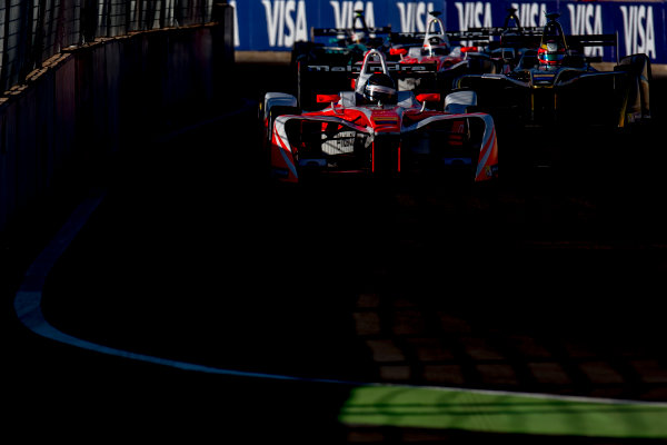 2016/2017 FIA Formula E Championship. Marrakesh ePrix, Circuit International Automobile Moulay El Hassan, Marrakesh, Morocco. Saturday 12 November 2016. Nick Heidfeld (GER), Mahindra Racing, Spark-Mahindra, Mahindra M3ELECTRO.  Photo: Zak Mauger/Jaguar Racing ref: Digital Image _L0U6839