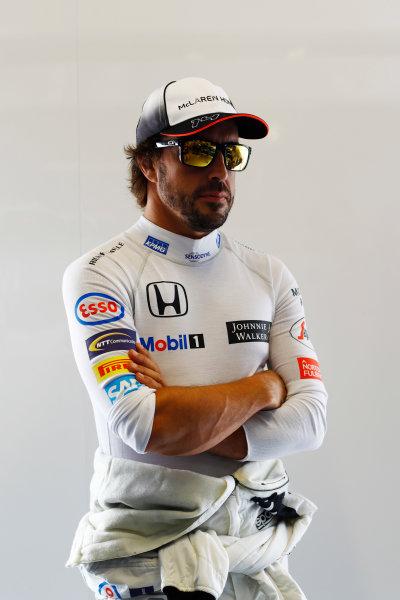 Autodromo Nazionale di Monza, Italy. Friday 02 September 2016. Fernando Alonso, McLaren.  World Copyright: Steven Tee/LAT Photographic ref: Digital Image _O3I4813