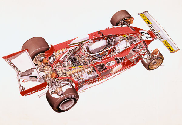 Cutaway drawing.