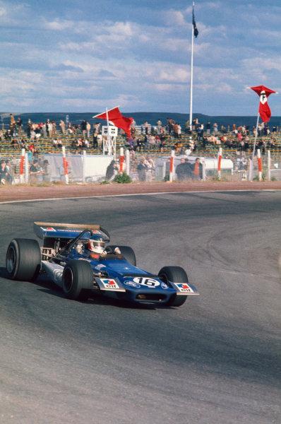 1970 Spanish Grand Prix.  Jarama, Spain. 17-19th April 1970.  Johnny Servoz-Gavin, March 701 Ford, 5th position.  Ref: 70ESP11. World Copyright: LAT Photographic