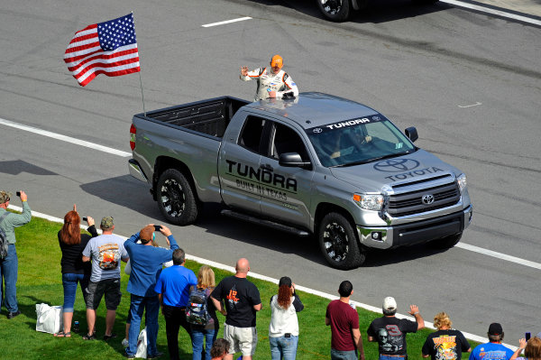 20-21 February, 2015, Daytona Beach, Florida USA Daniel Suarez, Arris Toyota Camry, driver intros ?2015, F. Peirce Williams LAT Photo USA
