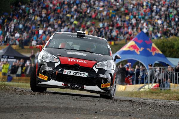 Round 09-Rallye Deutschland 23-26/8-2012.Sebastien Chardonnet, Citroen DS3, Action.Worldwide Copyright: McKlein/LAT