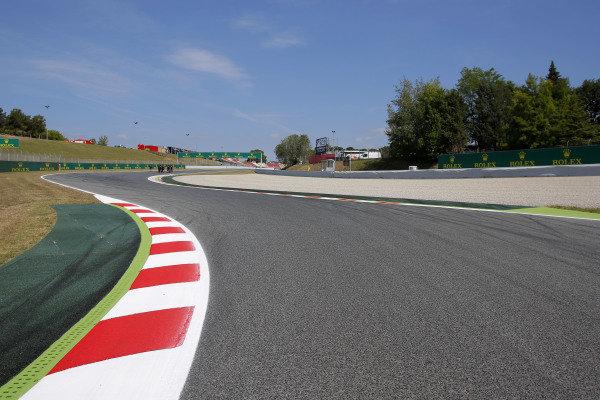 Track view. Formula One World Championship, Rd5, Spanish Grand Prix, Preparations, Barcelona, Spain, Thursday 8 May 2014.