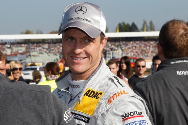 2012 DTM Championship Round 10 - Hockenheim, Germany 19th - 21st October 2012 Ralf Schumacher (GER), Team HWA AMG Mercedes, AMG Mercedes C-Coupe. World Copyright:  XPB Images / LAT Photographic ref: Digital Image 2403214_HiRes