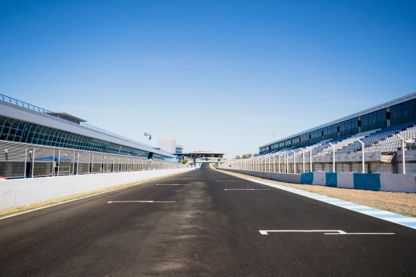 2017 GP3 Series Round 7.  Circuito de Jerez, Jerez, Spain. Thursday 5 October 2017. A view of the track. Photo: Zak Mauger/GP3 Series Media Service. ref: Digital Image _56I3893