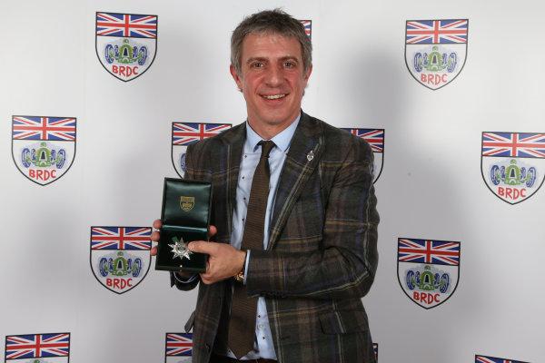 2015 British Racing Drivers Club Awards Grand Connaught Rooms, London Monday 7th December 2015 Jason Plato. World Copyright: Jakob Ebrey/LAT Photographic ref: Digital Image Plato-02