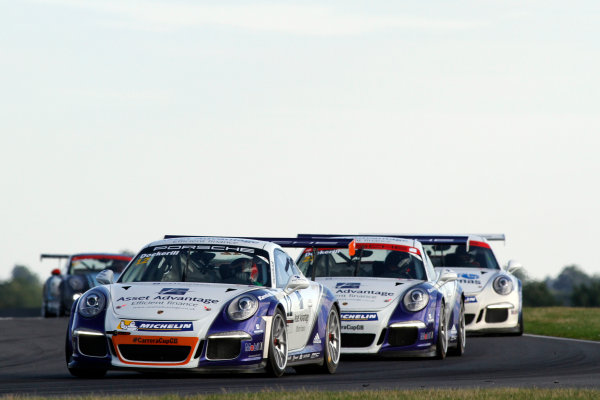 2015 Porsche Carrera Cup, Snetterton, Norfolk. 8th-9th August 2015, Chris Dockerill (GBR) World copyright.Jakob Ebrey/LAT Photographic