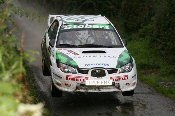 2006 British Rally ChampionshipUlster Rally, Armagh.2nd September 2006Julian ReynoldsWorld Copyright - Ebrey/LAT Photographic