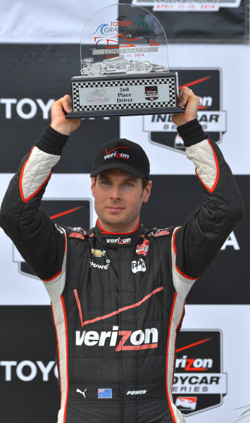 11-13 April, 2014, Long Beach, California USA #12 Will Power Verizon Team Penske, second place ©2014, Dan R. Boyd Lat Photo USA