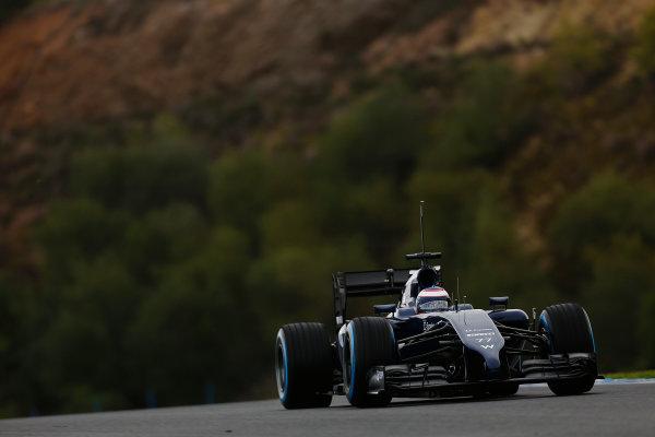 2014 F1 Pre Season Test 1 - Preview Circuito de Jerez, Jerez, Spain. Wednesday 29 January 2014. Valtteri Bottas, Williams FW36 Mercedes. World Copyright: Andrew Ferraro/LAT Photographic. ref: Digital Image _79P1069