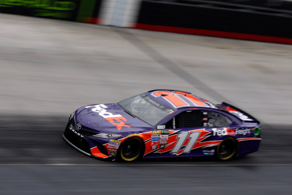 Monster Energy NASCAR Cup Series Food City 500 Bristol Motor Speedway, Bristol, TN USA Friday 21 April 2017 Denny Hamlin, FedEx Freight Toyota Camry World Copyright: Lesley Ann Miller LAT Images