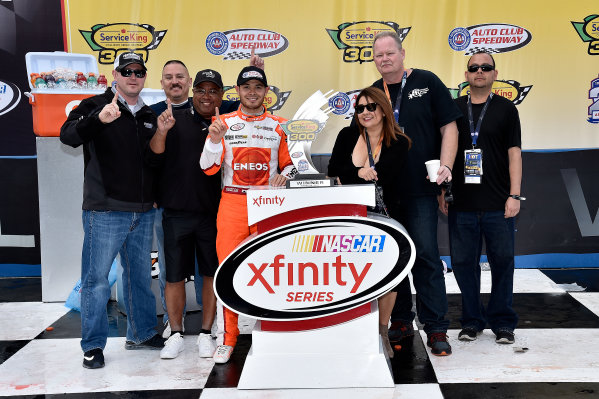 2017 NASCAR Xfinity Series Service King 300 Auto Club Speedway, Fontana, CA USA Saturday 25 March 2017 Kyle Larson World Copyright: Rusty Jarrett/LAT Images ref: Digital Image 17FONrj_5295