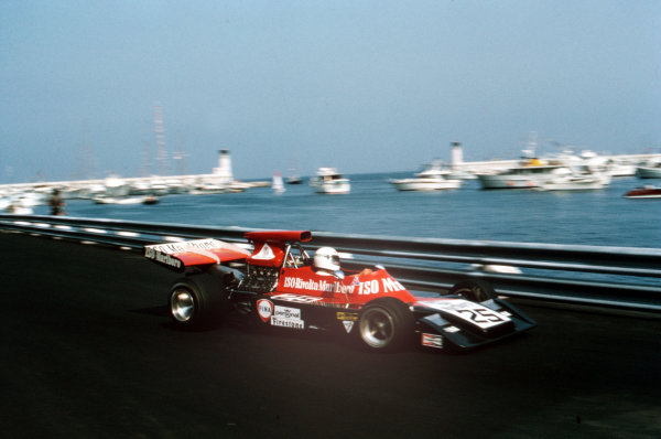 Monte Carlo, Monaco.31/5-3/6 1973.Howden Ganley (Williams FW03 Ford).Ref-35mm 73 MON 22.World Copyright - LAT Photographic