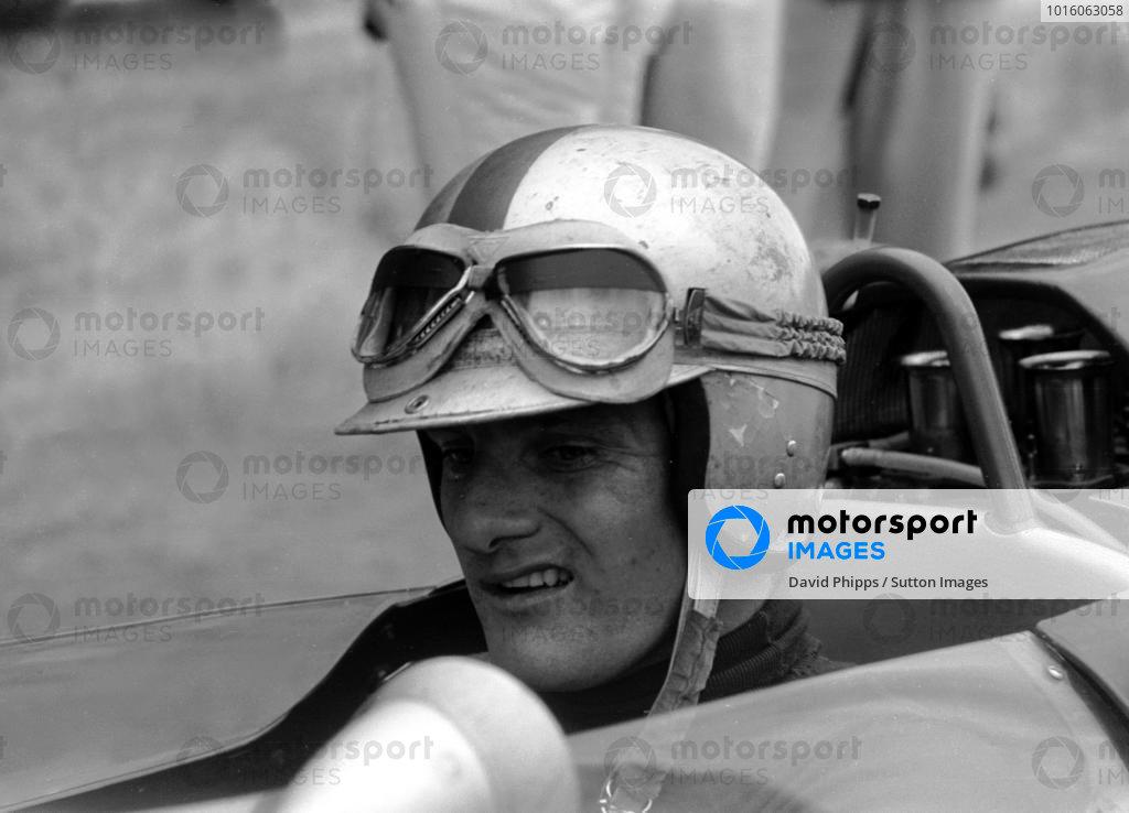 Mike Hailwood (GBR) Lola Mk4 Italian GP, Monza, 8th September 1963