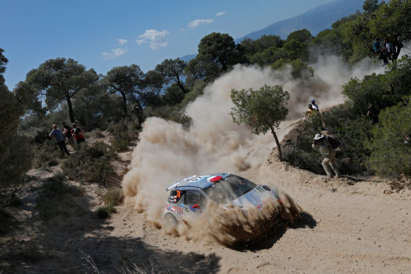 2013 FIA World Rally Championship Round 06-Acropolis rally of Greece 31/5-2/6-2013. Robert Kubica, Citroen WRC, Action. Worldwide Copyright: McKlein/LAT