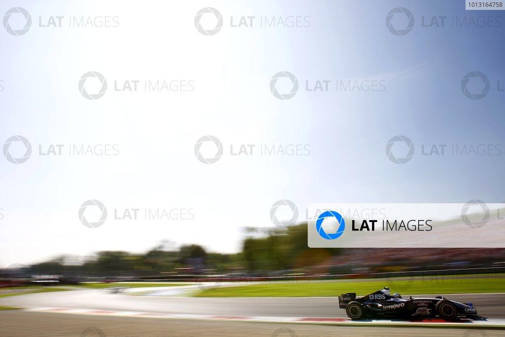 2007 Italian Grand PrixAutodromo di Monza, Monza, Italy.7th - 9th September 2007.Alex Wurz, Williams FW29. Action.World Copyright: Lorenzo Bellanca/LAT Photographicref: Digital Image _64I6149