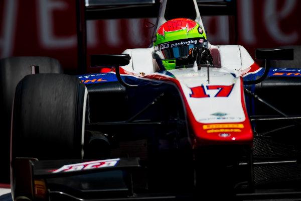 2017 FIA Formula 2 Round 4. Baku City Circuit, Baku, Azerbaijan. Friday 23 June 2017. Sergio Canamasas (ESP, Trident)  Photo: Zak Mauger/FIA Formula 2. ref: Digital Image _54I0127