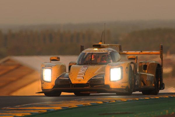 2017 Le Mans 24 Hours Circuit de la Sarthe, Le Mans, France. Sunday 18th  June 2017 #29 Racing Team Nederland Dallara P217-Gibson: Jan Lammers, Frits Van Eerd, Rubens Barrichello  World Copyright: JEP/LAT Images
