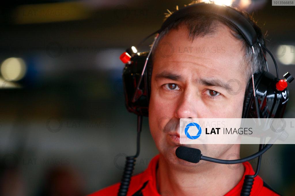 Albert Park, Melbourne, Australia25th March 2011.Nick Wirth, Technical Director, Marussia Virgin Racing. Portrait. World Copyright: Glenn Dunbar/LAT Photographicref: Digital Image