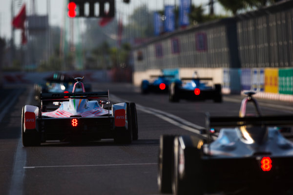 2016/2017 FIA Formula E Championship. Marrakesh ePrix, Circuit International Automobile Moulay El Hassan, Marrakesh, Morocco. Nick Heidfeld (GER), Mahindra Racing, Spark-Mahindra, Mahindra M3ELECTRO.  Saturday 12 November 2016. Photo: Sam Bloxham/LAT/Formula E ref: Digital Image _SLA7348