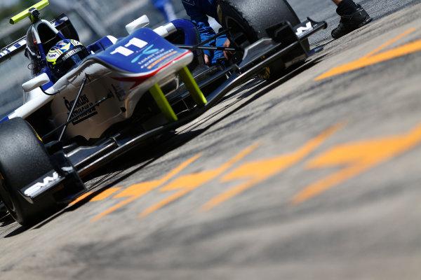 2015 GP3 Series Test 3 - Circuit de Catalunya, Barcelona, Spain. Thursday 23 April 2015. Jimmy Eriksson (SWE, Koiranen GP)  Photo: Sam Bloxham/GP3 Series Media Service. ref: Digital Image _SBL1738
