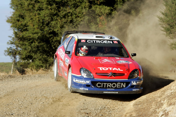2005 FIA World Rally Champs. Round four