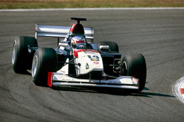 2003 International F3000 ChampionshipBarcelona, Spain. 2nd - 3rd May 2003Jaroslav Janis (Superfund ISR Charouz), action.Photo: Peter Spinney / LAT Photographic ref: 35mm Image 03F3kESP14