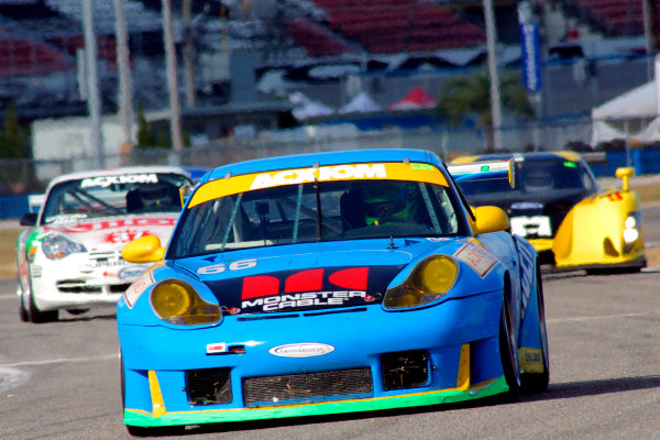 2004 Rolex Daytona 24 Hours TestingDaytona, Florida. USA. 5th January 2004.Porsche GT3 RS, of Kevin Buckler, Timo Bernhard, Jorg Bergmeister, action.World Copyright: Greg Aleck/LAT Photographicref: Digital Image Only