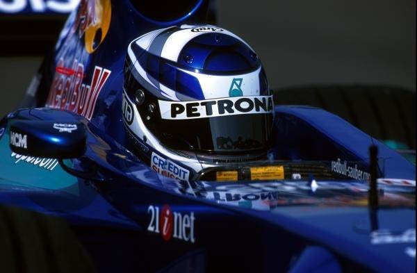 Kimi Raikkonen(FIN) Sauber Petronas C20Formula One Testing, Silverstone, 14 June 2001