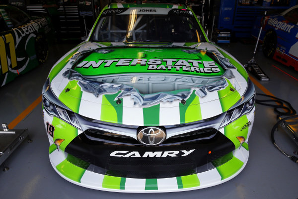 #19: Brandon Jones, Joe Gibbs Racing, Toyota Camry Interstate Batteries
