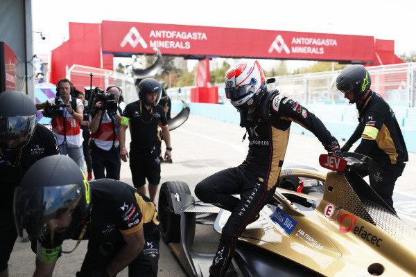 Jean-Eric Vergne (FRA), DS Techeetah, DS E-Tense FE20, retires from the race