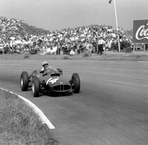 1960 Dutch Grand Prix.Zandvoort, Holland.4-6 June 1960.Jo Bonnier (BRM P48).Ref-6582.World Copyright - LAT Photographic
