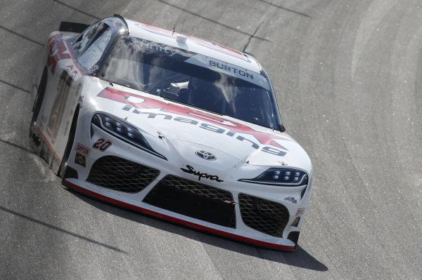 #20: Harrison Burton, Joe Gibbs Racing, Morton Buildings/DEX Imaging Toyota Supra