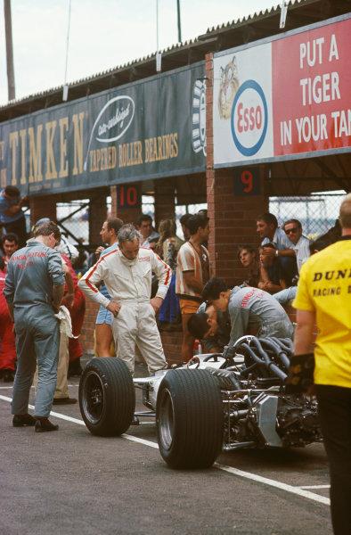 Kyalami, South Africa. 30/12/67-1/1/1968. John Surtees (Honda RA300) 8th position, portrait.Ref-68SA19. World Copyright - LAT Photographic