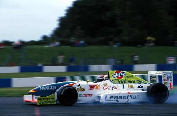 Antonio Garcia (ESP) Open Telefonica Nissan Championship, Donington, England, 6 August 2000