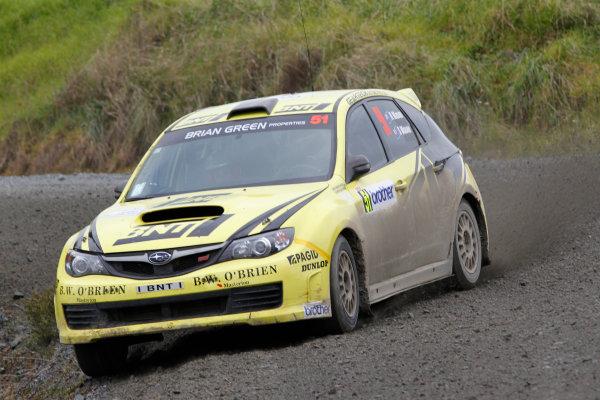 Round 7, Rally New Zealand, 21st-24th June 2012Richard Mason, Subaru, Action.