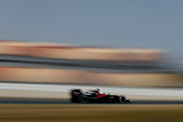 Circuit de Catalunya, Barcelona, Spain Monday 22 February 2016. Jenson Button, McLaren MP4-31 Honda. World Copyright: Glenn Dunbar/LAT Photographic ref: Digital Image _89P4294