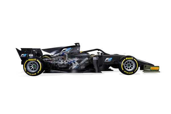 Autodromo Nazionale di Monza, Italy. Tuesday 22 August 2017 Studio image of the new 2018 F2 car. Photo: Zak Mauger/FIA Formula 2 ref: Digital Image 1C_IMG_0051