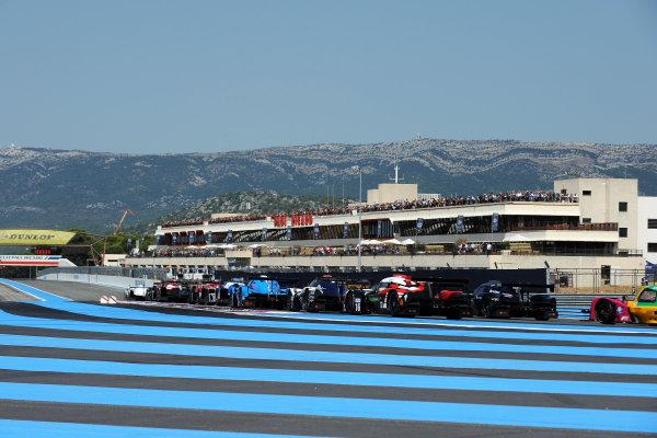 2017 European Le Mans Series, Le Castellet, France. 25th - 27th August 2017. Race Start World Copyright: JEP/LAT Images