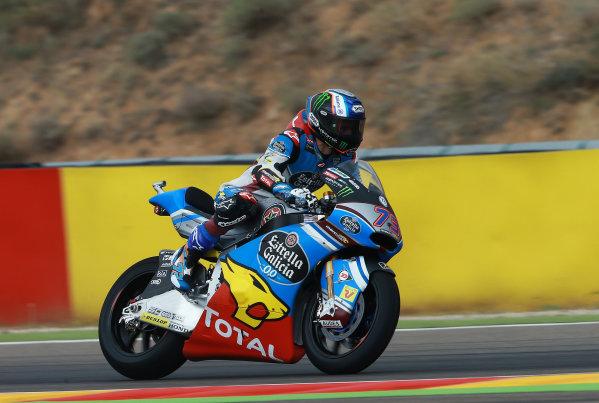 2017 Moto2 Championship - Round 14 Aragon, Spain. Friday 22 September 2017 Alex Marquez, Marc VDS World Copyright: Gold and Goose / LAT Images ref: Digital Image 693603