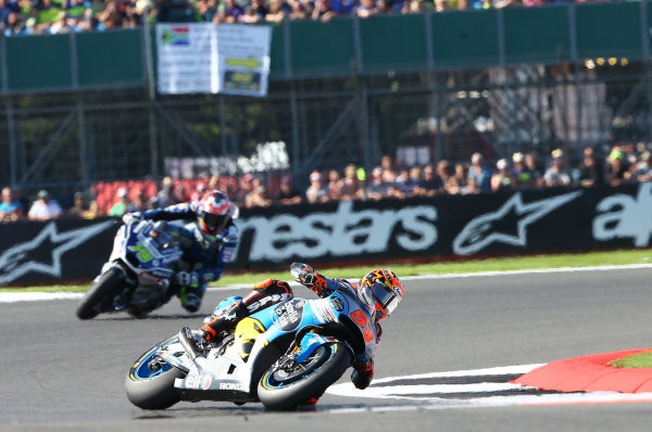 2017 MotoGP Championship - Round 12 Silverstone, Northamptonshire, UK. Sunday 27 August 2017 Tito Rabat, Estrella Galicia 0,0 Marc VDS World Copyright: Gold and Goose / LAT Images ref: Digital Image 689767