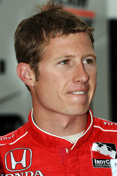 Ryan Briscoe (AUS), Team Penske.IndyCar Series, Rd3, Road Runner Turbo 300, Kansas Speedway, Kansas, USA. 25-26 April 2009.