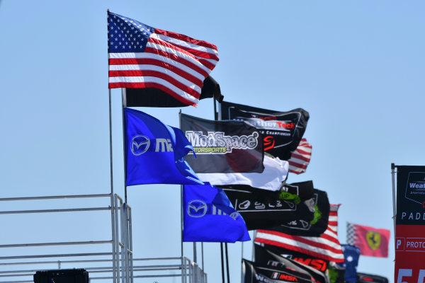 2017 IMSA WeatherTech SportsCar Championship Mobil 1 Twelve Hours of Sebring Sebring International Raceway, Sebring, FL USA Thursday 16 March 2017 Flags World Copyright: Richard Dole/LAT Images ref: Digital Image RD_217_SEB13
