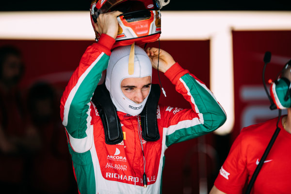 Bahrain International Circuit, Sakhir, Bahrain. Wednesday 29 March 2017 Charles Leclerc (MON) PREMA Racing Photo: Malcolm Griffiths/FIA Formpula 2 ref: Digital Image MALC4420 2