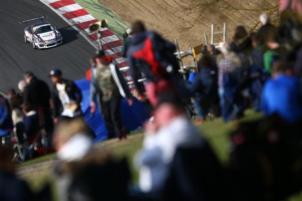 2017 Porsche Carrera Cup GB Brands Hatch, 1st-2nd April 2017 Charlie Eastwood  World Copyright. JEP/LAT Images